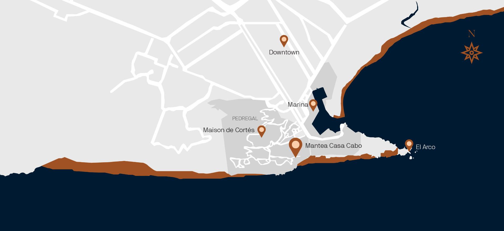 Maison de Cortes- Los Cabos, Pedregal Luxury Villa